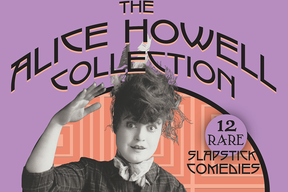 A Silent Clown Is Given Voice with  The Alice Howell Collection