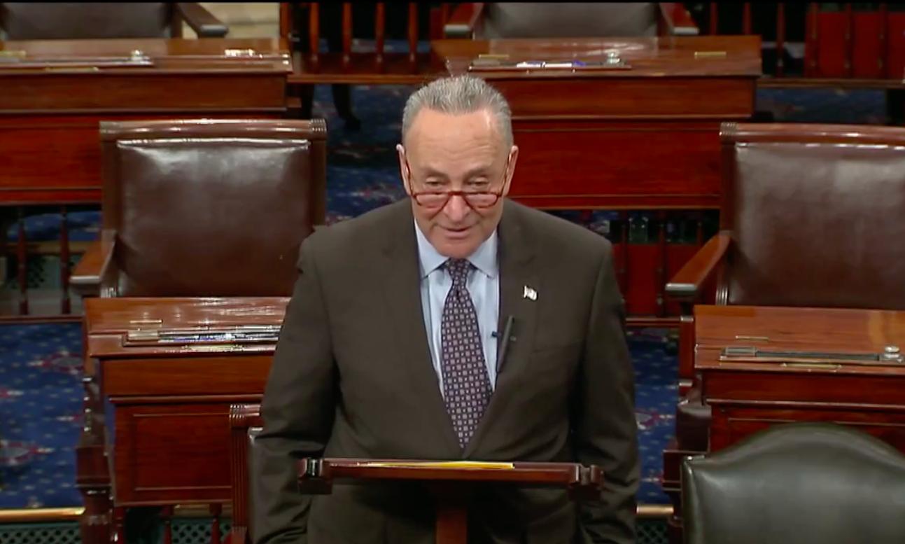 Chuck Schumer Borrows Nancy Pelosi's Spine Again, Green New Deal Edition