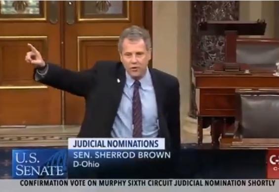 Sherrod Brown Nixes 2020 Run To Keep Kicking Ass In Senate