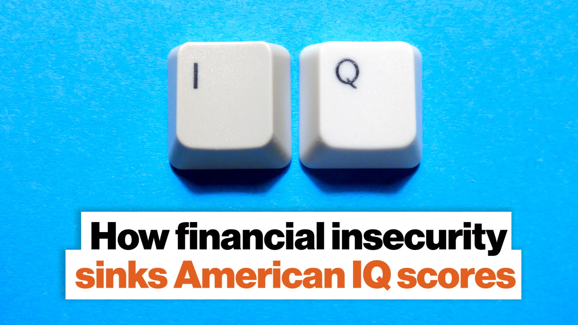 How financial insecurity sinks American IQ scores