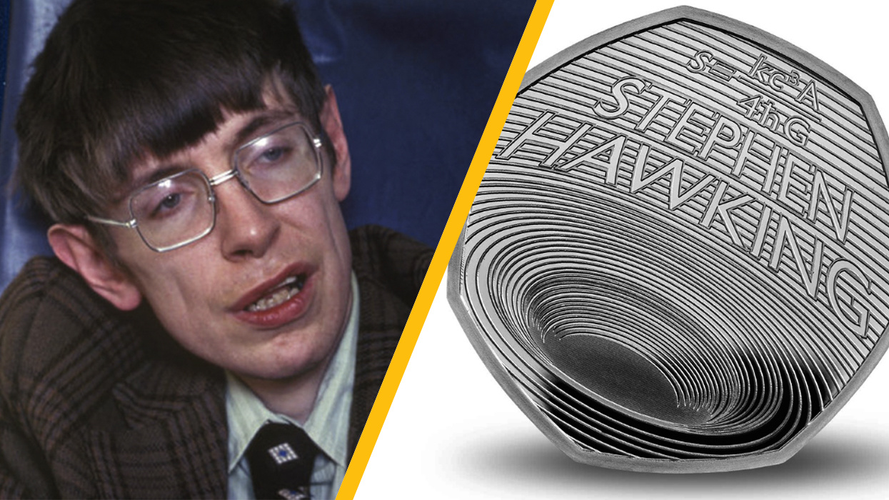 U.K. Royal Mint honors Stephen Hawking on new 50p coin