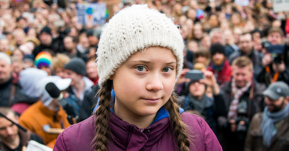 photo of Greta Thunberg—Swedish Teen who Inspired School Climate Strikes—Nominated for Nobel Peace Prize image