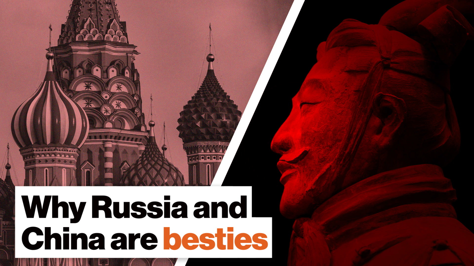 Why Russia and China are besties