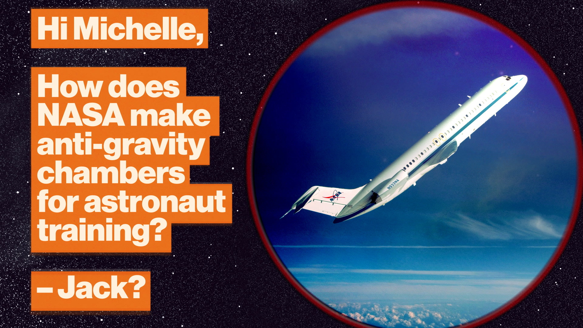NASA's zero-gravity plane: How astronauts train for microgravity