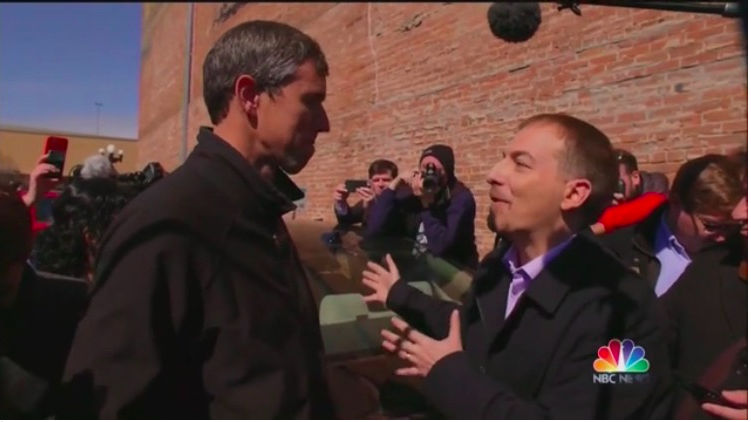 Chuck Todd To Beto: How's That Hopey Changey Thing Workin' Out For Ya?