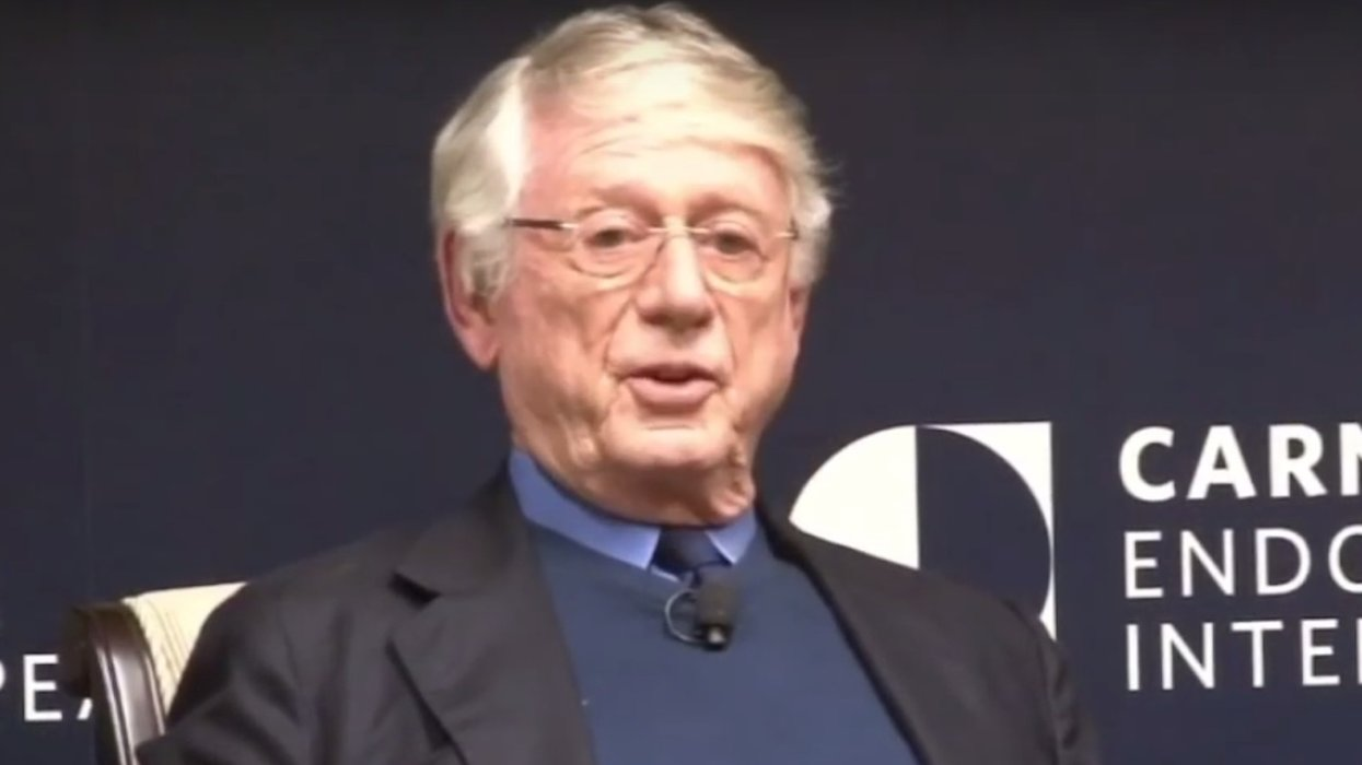 Iconic news anchor Ted Koppel says President Trump is 'not mistaken' that the 'liberal media' is 'out to get him'