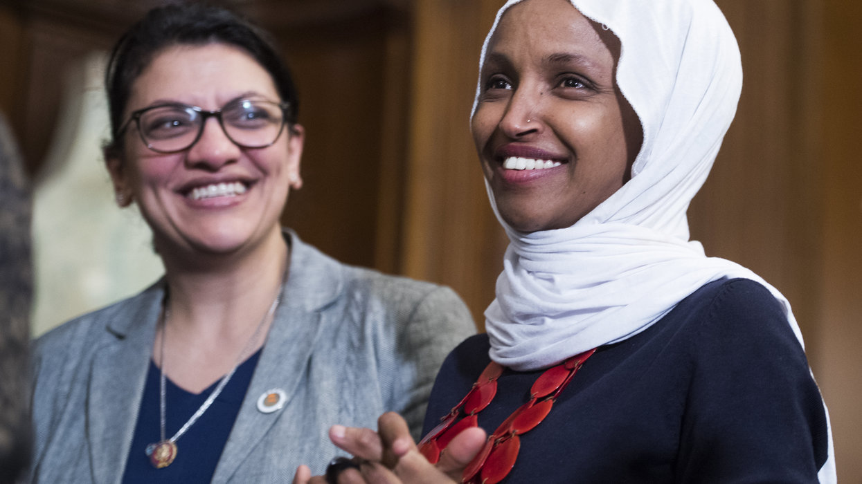 Jewish Dem asked Reps. Omar and Tlaib to affirm Israel's right to exist. Here's their stunning response.