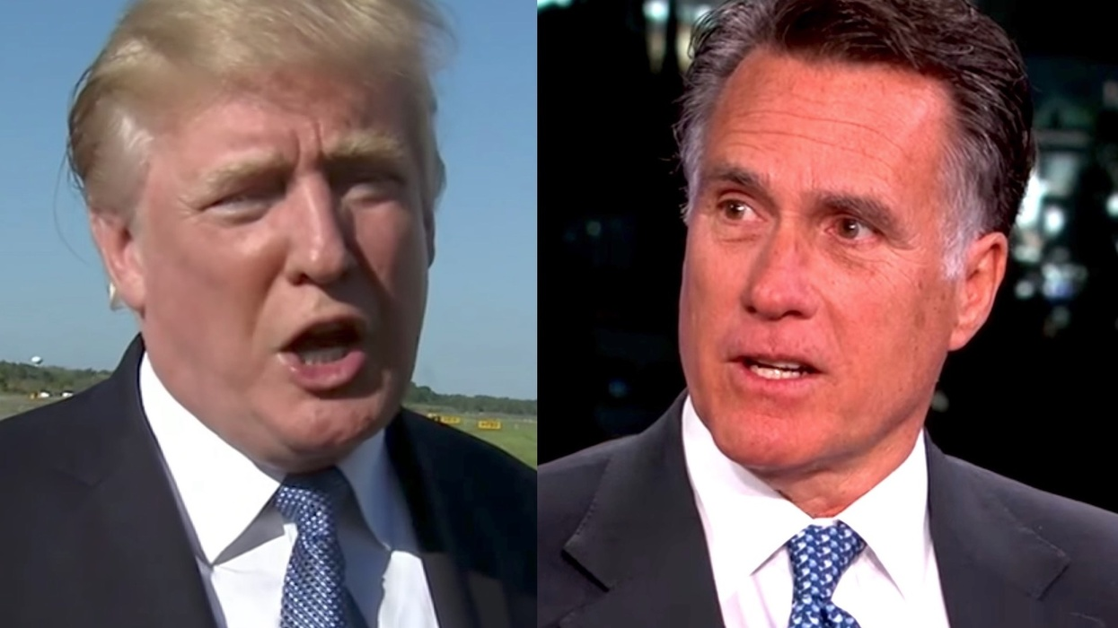 Mitt Romney breaks his silence over Trump attacks on John McCain - here's what he just said