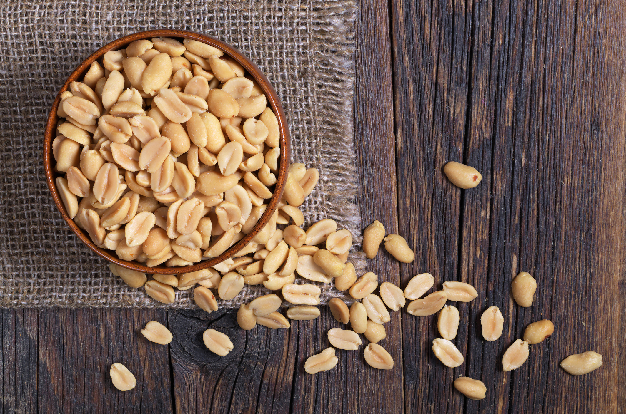 are pennuts good for your diet