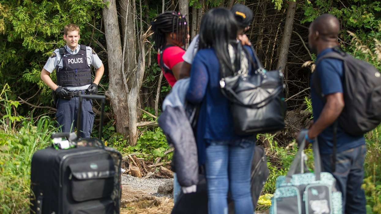 Canada ramps up border security to stop the flow of asylum-seekers coming from the US