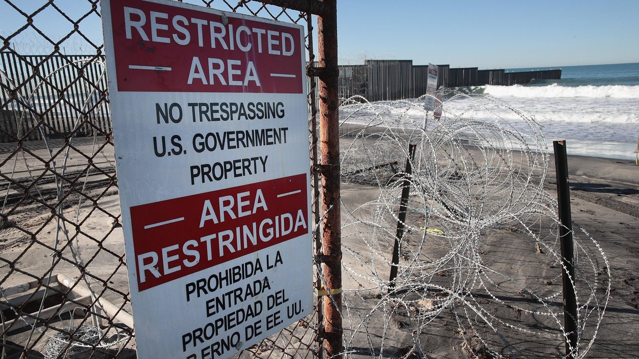 Mexicans are stealing border fence razor wire and selling it in Tijuana, officials say
