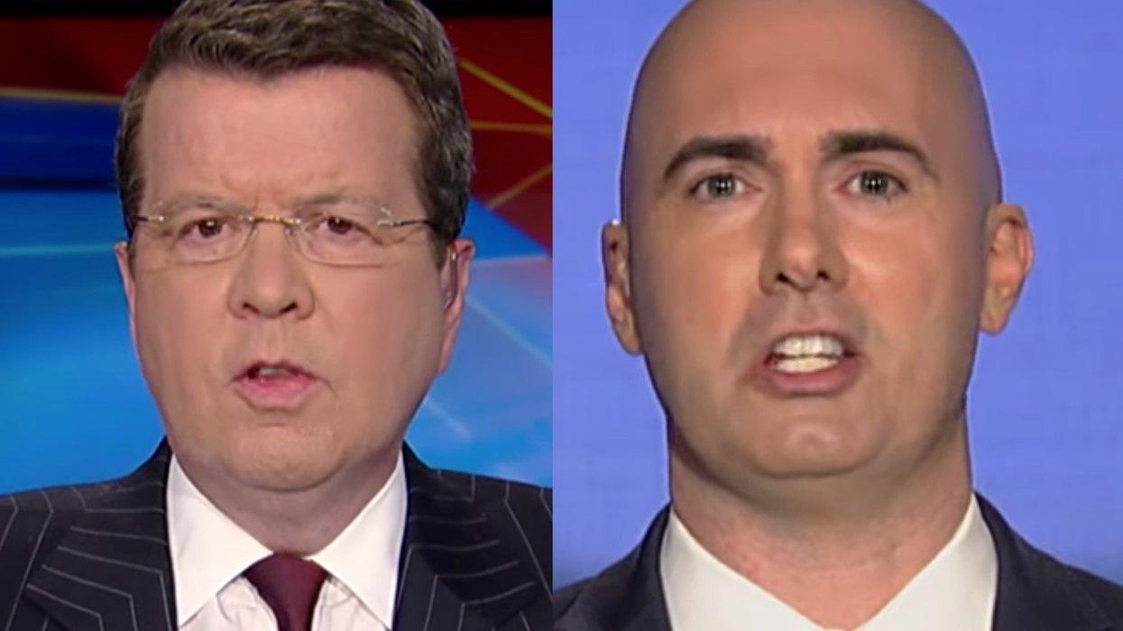 Neil Cavuto grills guest over President Trump's attacks on John McCain