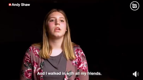 A 15-year-old girl sues school over transgender locker room policy