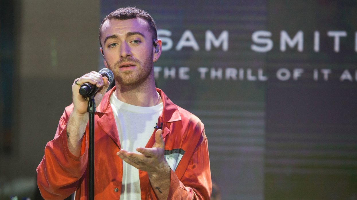 'Nonbinary, genderqueer' singer Sam Smith: 'I am not male or female'