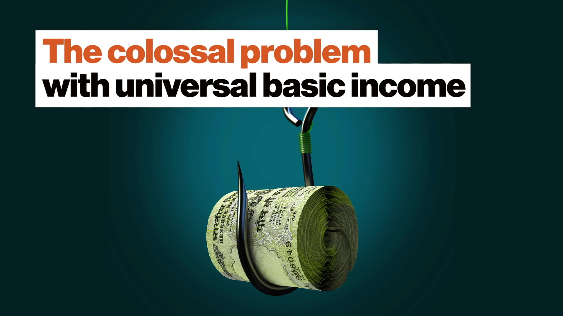The colossal problem with universal basic income