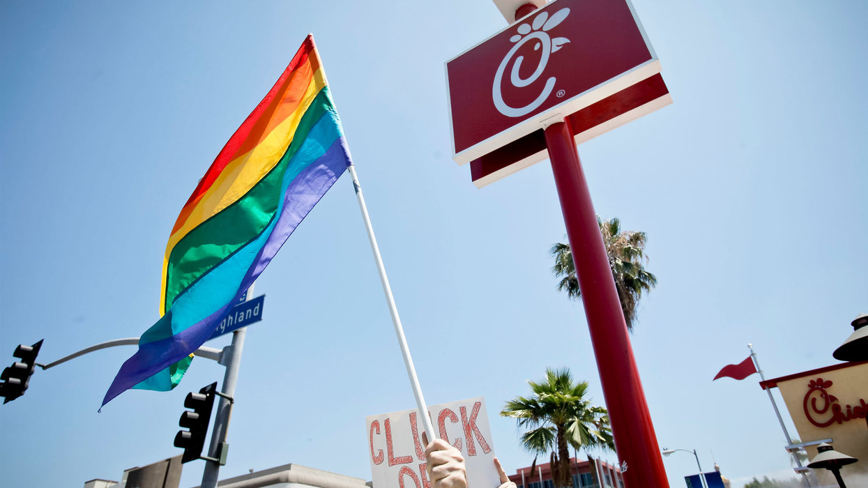 San Antonio bars Chick-fil-A from airport over 'legacy of anti-LGBTQ' behavior. The company's response is exactly what you'd expect.