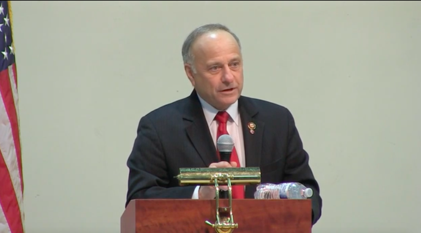 Steve King Borrows Obama's Time Machine To Be Racist About Hurricane Katrina