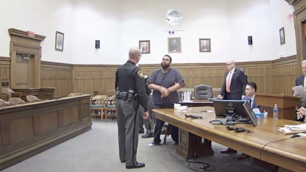 WATCH: Defendant flips out on judge with obscenity-laced rant after sentencing. Then judge teaches him a brutal lesson.