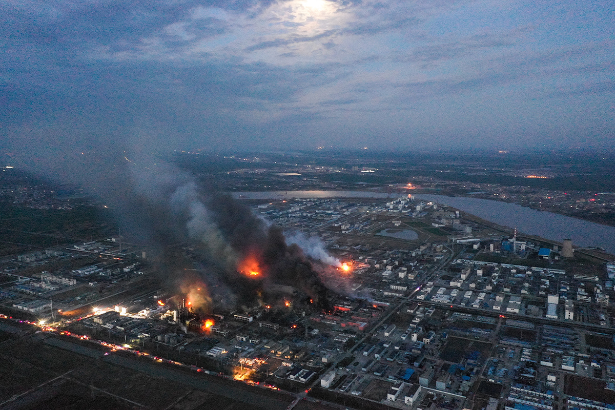 Nearly 50 Dead in Explosion at Chinese Chemical Plant