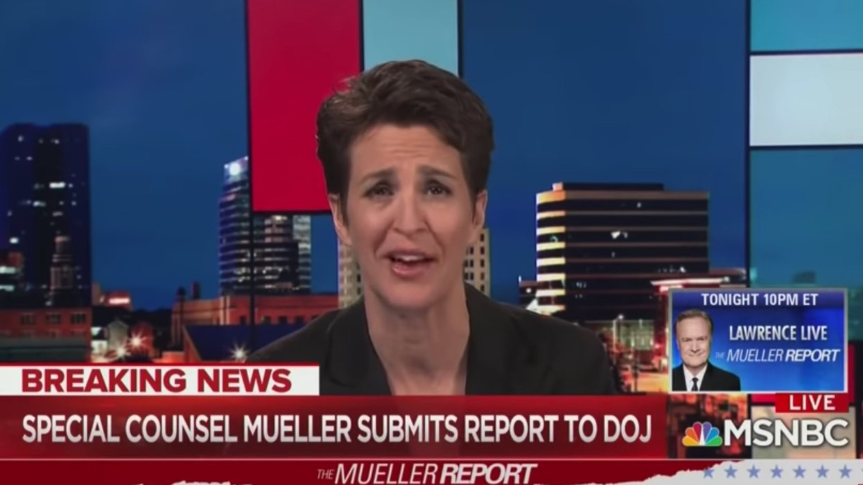 WATCH: Rachel Maddow holds back tears after Mueller report, anti-Trump pundit forced to make stunning admission