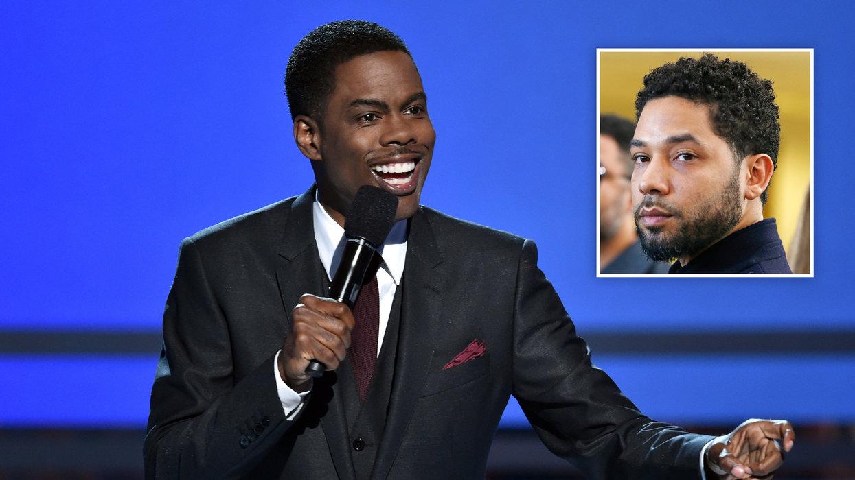 WATCH: Chris Rock brutally roasts, mocks Jussie Smollett at NAACP Image awards