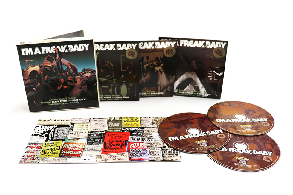 I m a Freak 2 Baby: A Further Journey Through the British Heavy Psych & Hard Rock Underground Scene 1968-73