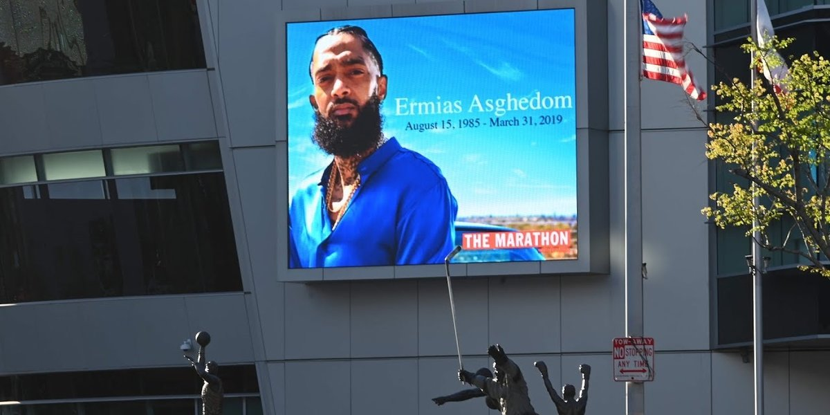Watch an Eritrean Priest Read Scripture in Tigrinya at Nipsey Hussle's Memorial in LA