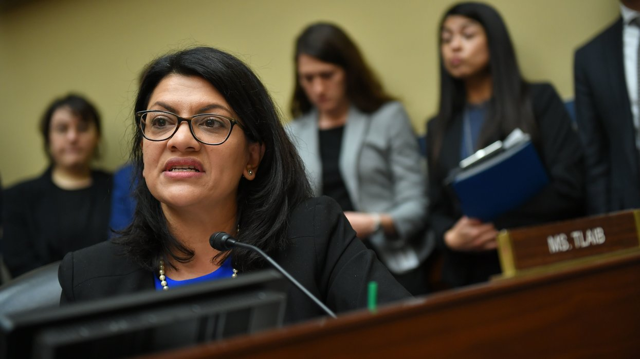 Rep. Rashida Tlaib makes stunning accusation about Democratic Party leadership