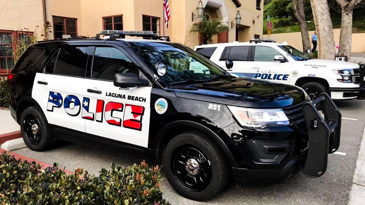 California Police Department put American flag on their cars, and triggered a 'backlash'