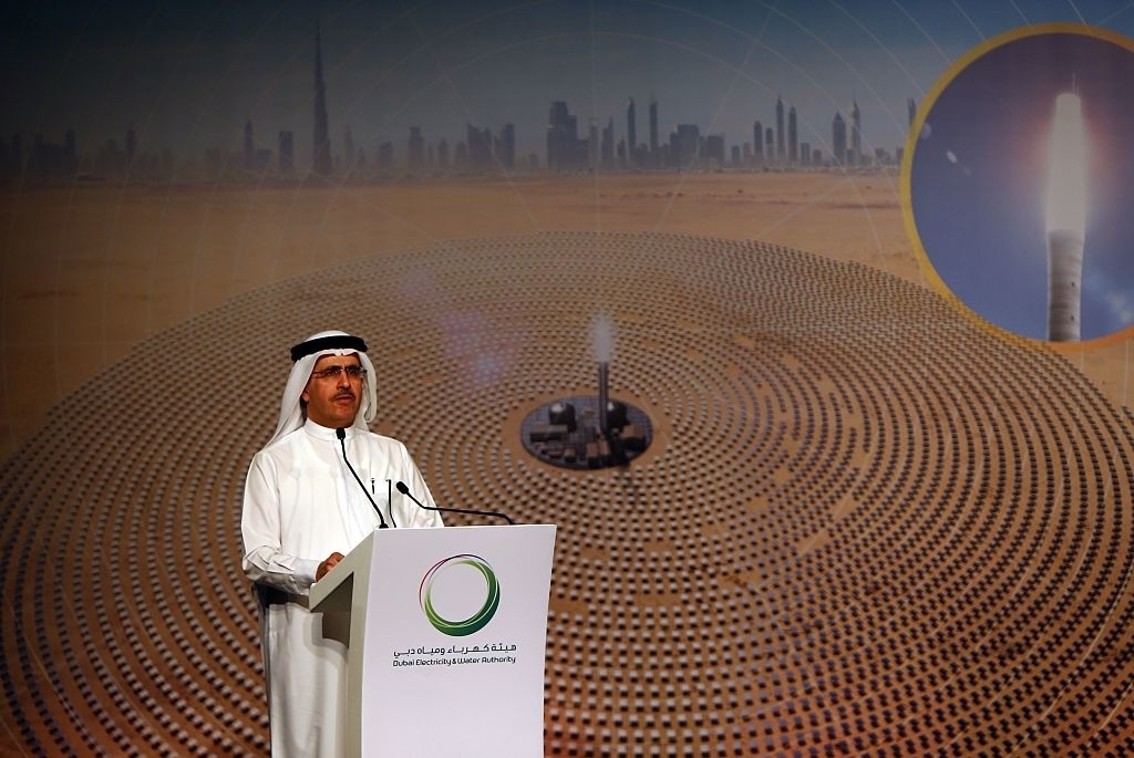 Dubai to build the world's largest concentrated solar power plant