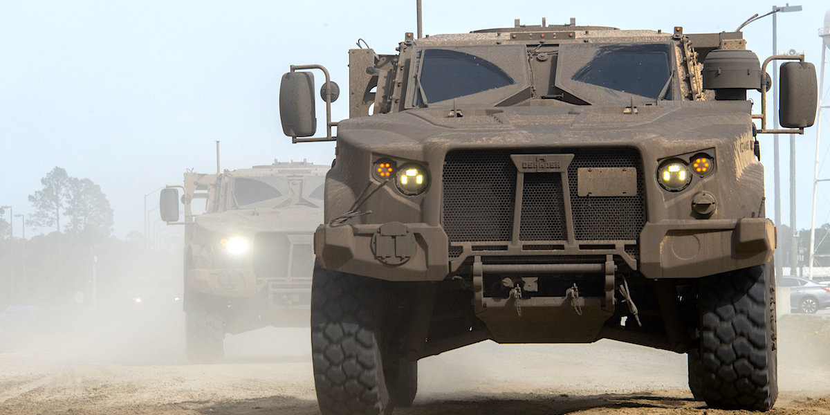 Army Admits Brand New JLTV Was Designed For The Last War - Task