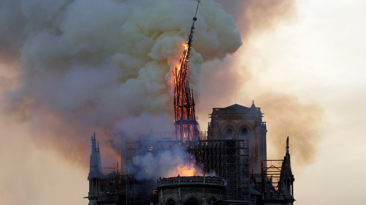 France to launch contest to determine design of new spire for damaged Notre Dame Cathedral