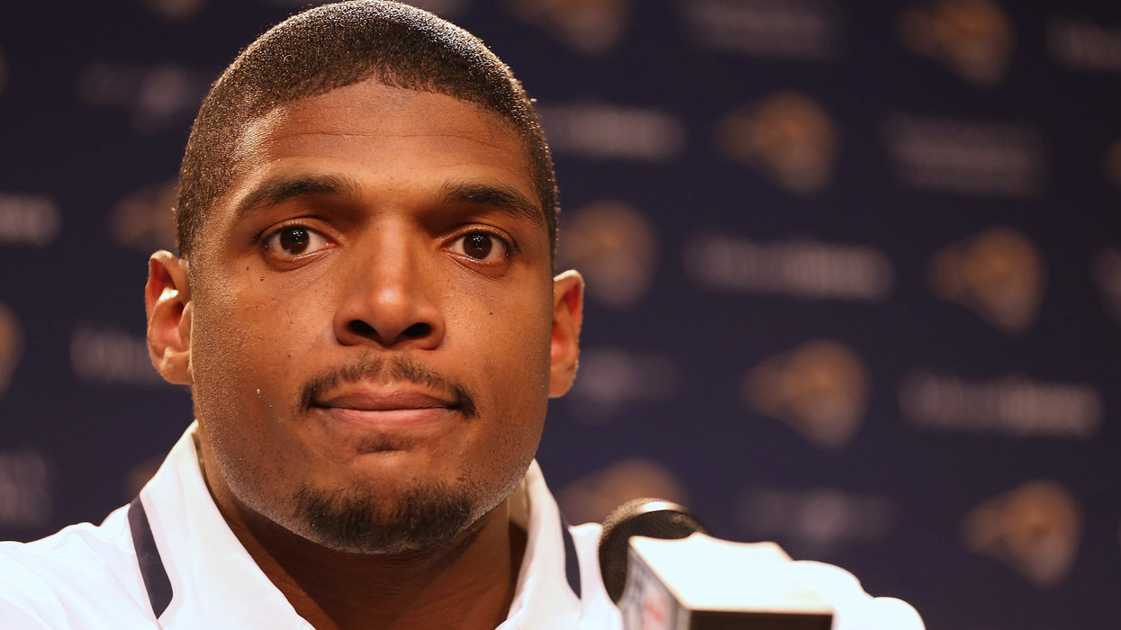 Former NFL player Michael Sam says the LGBT community used him as a poster boy and then abandoned him