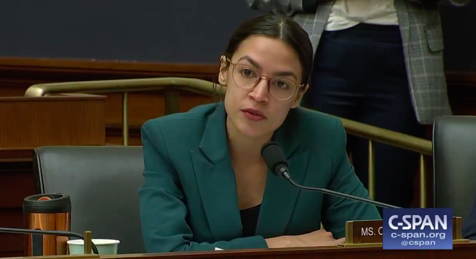 Alexandria Ocasio-Cortez Gonna Slap The Coal Out Kentucky Rep's Mouth