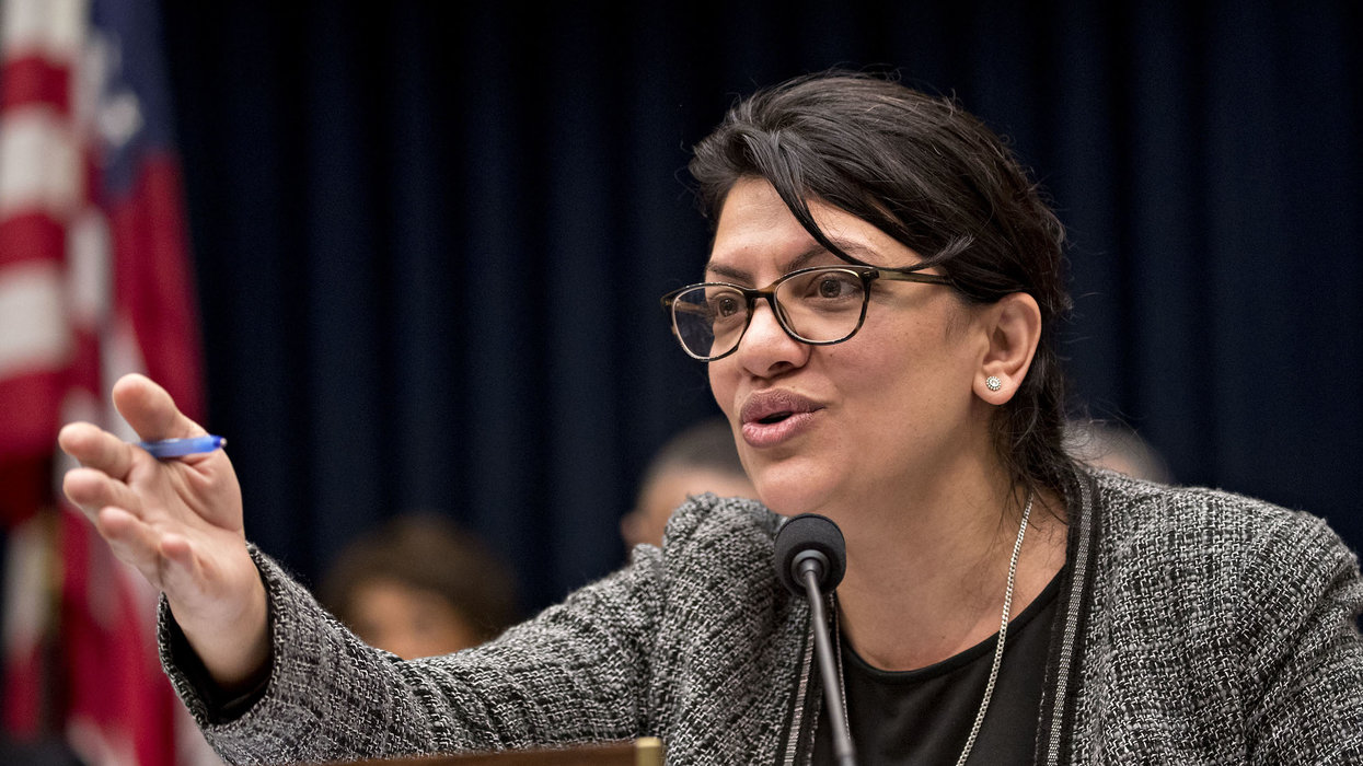 Rep. Rashida Tlaib incites activists to 'shut down' ICE, stop waiting for Congress to pass a law