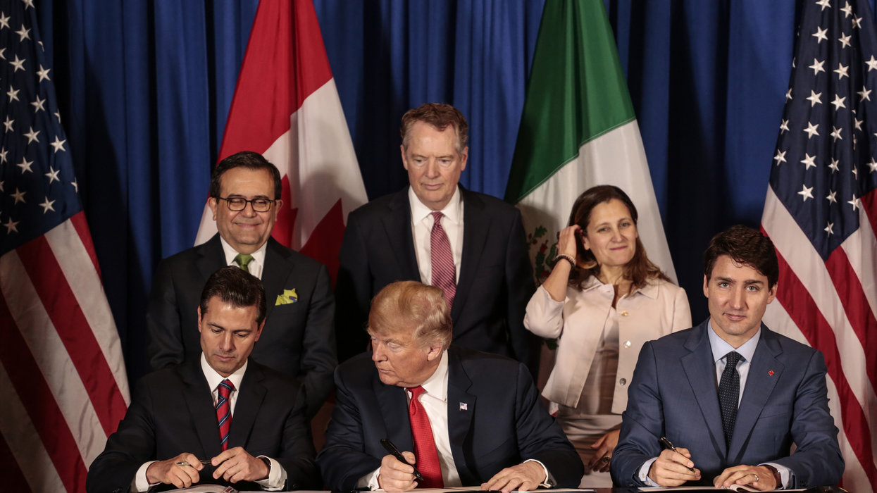 Government report says USMCA trade deal will be better than NAFTA, but only slightly