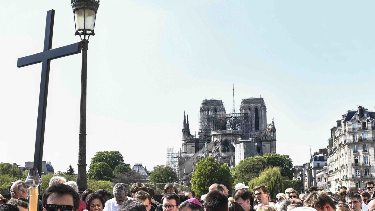 WTF MSM!? AP discovers Notre Dame is a religious site; today's word is 'impeachment'; Game of Elmo; and more