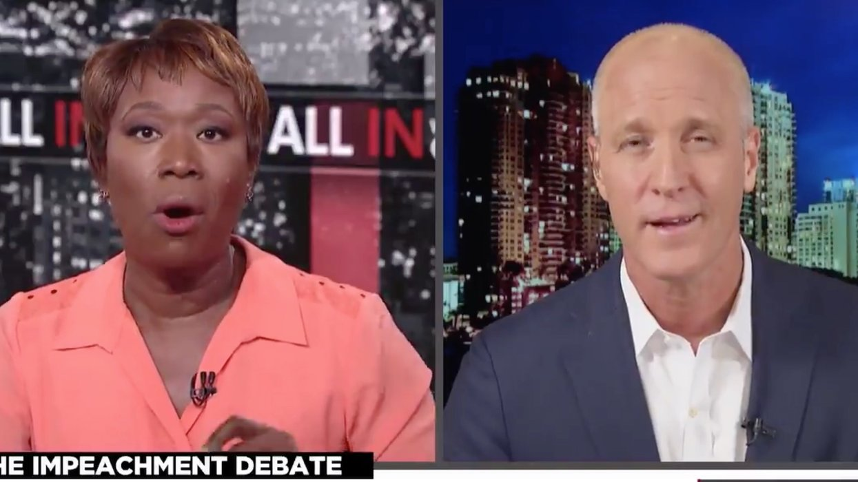 MSNBC's Joy Reid badgers Democratic Rep for not wanting to impeach Donald Trump