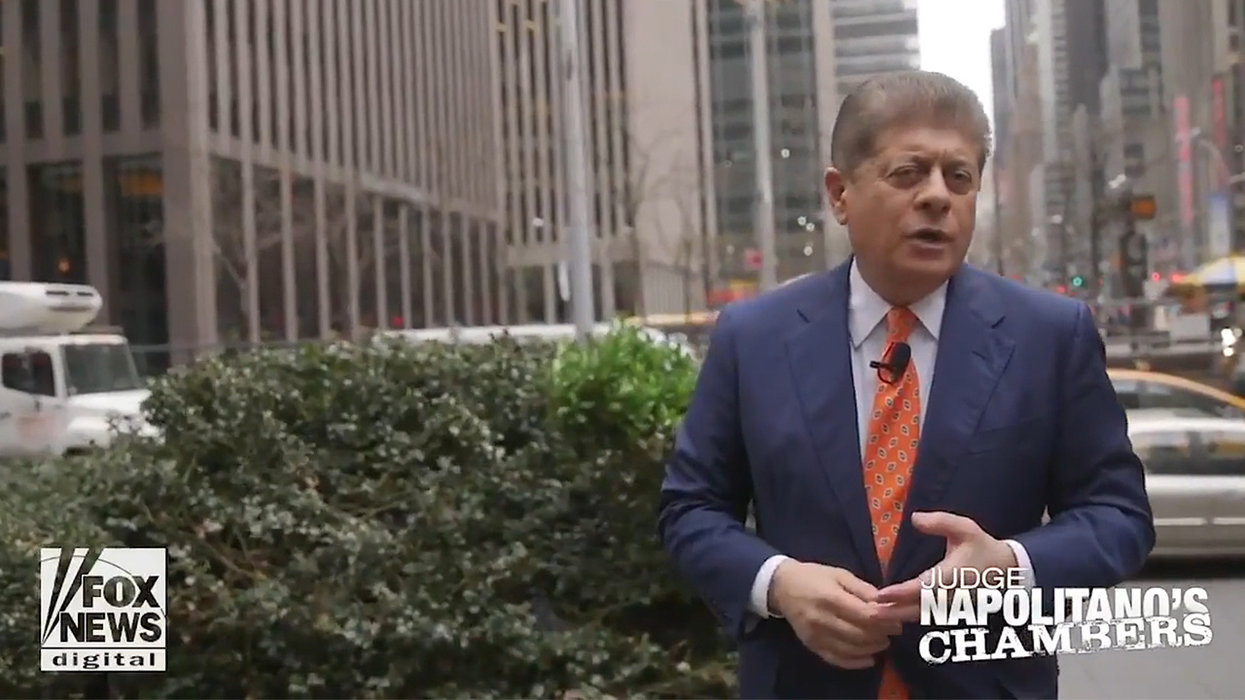 Judge Napolitano says Americans should be troubled by 'amoral, deceptive' Trump exposed in Mueller report