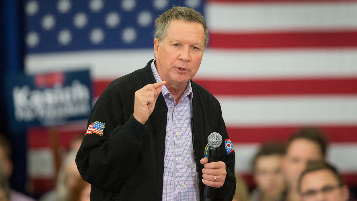 John Kasich makes wild claim about President Trump after Mueller report