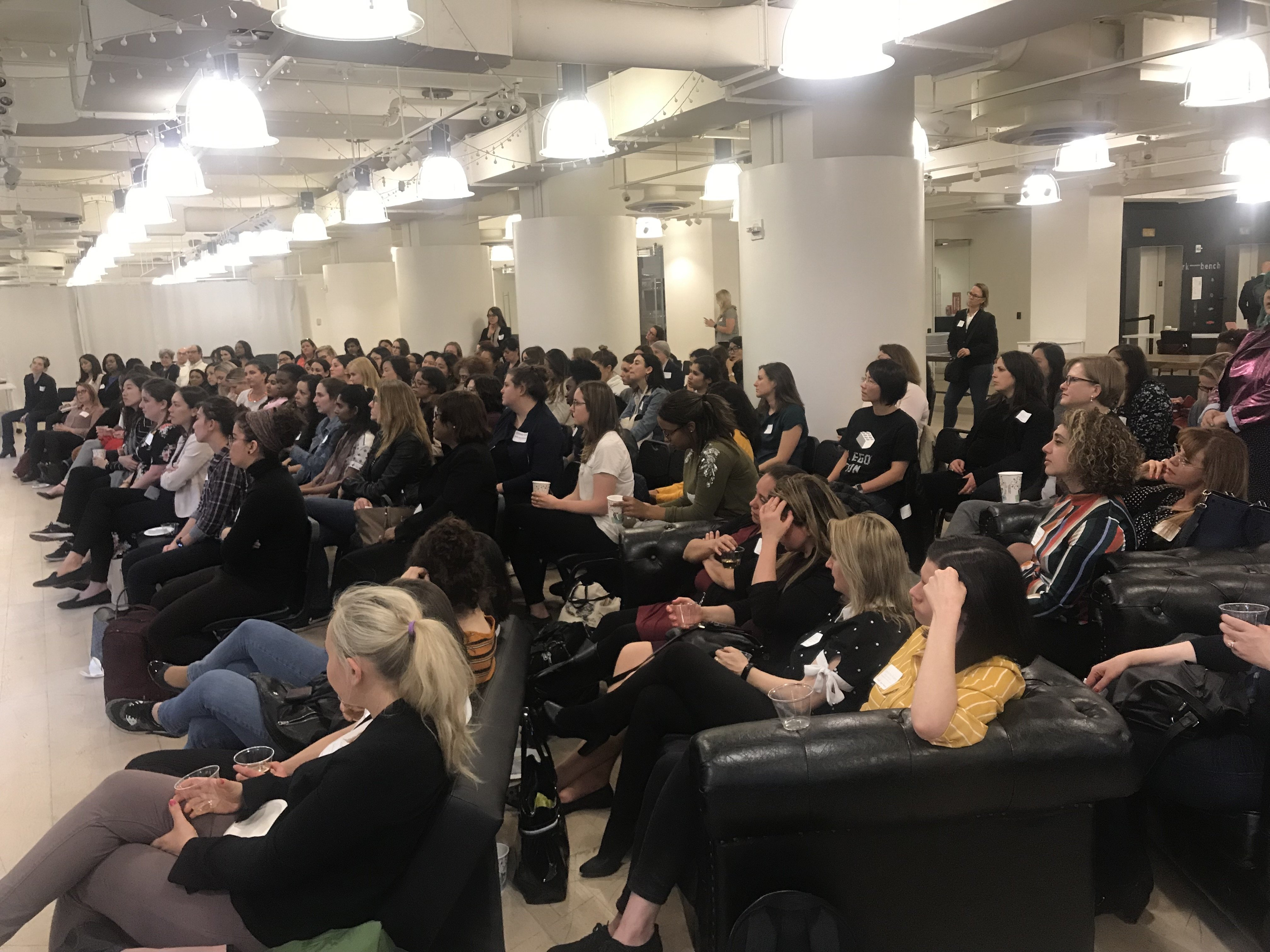 PowerToFly Hosts a Night of Networking for NYC Women in Tech