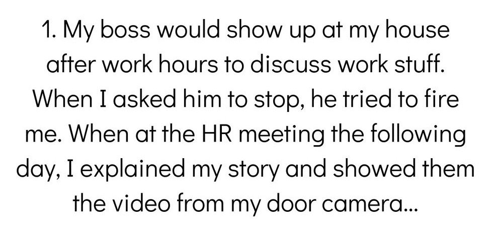 People Reveal How They Got Their Boss Fired - Comic Sands