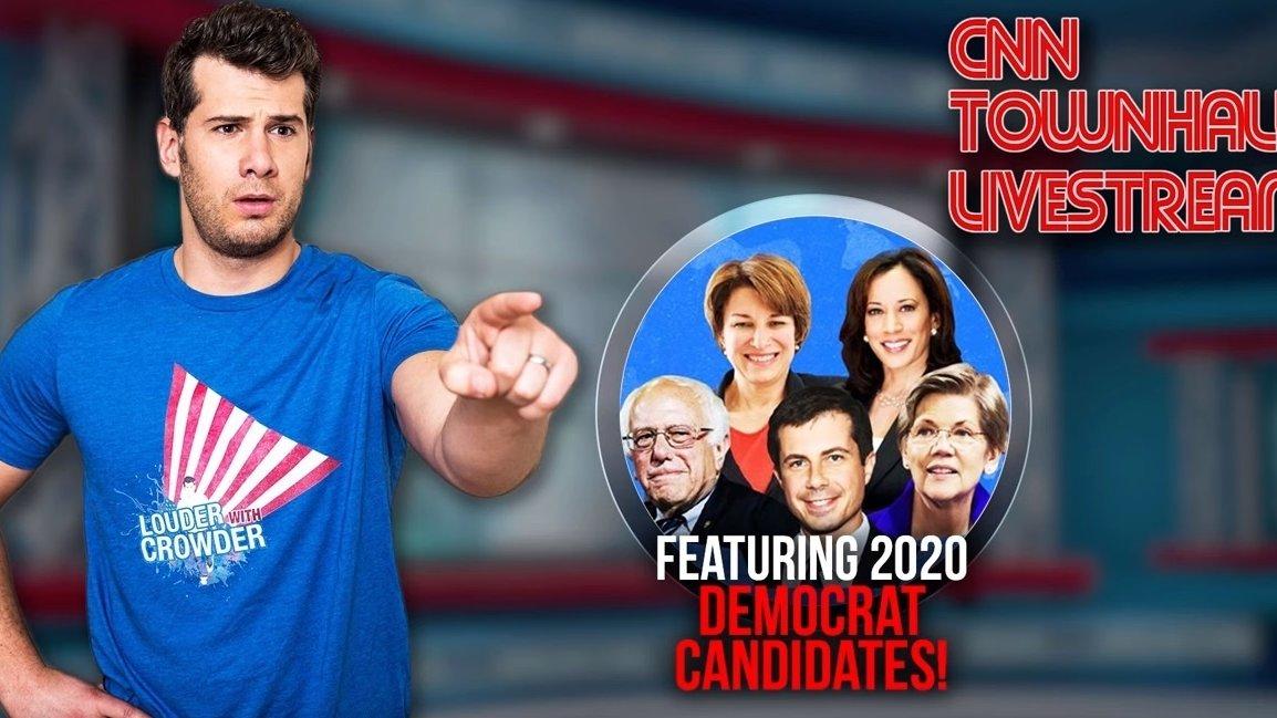 Watch CNN town halls tonight LIVE with Steven Crowder