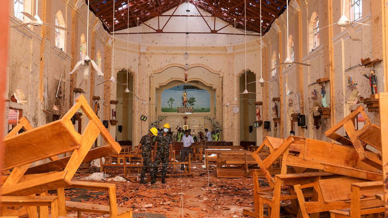 Washington Post puts focus on 'far-right anger' in wake of Sri Lankan church bombings