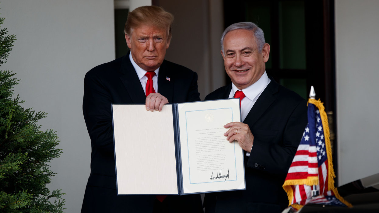 Israeli PM Netanyahu pledges to name Golan town after President Trump in a gesture of gratitude