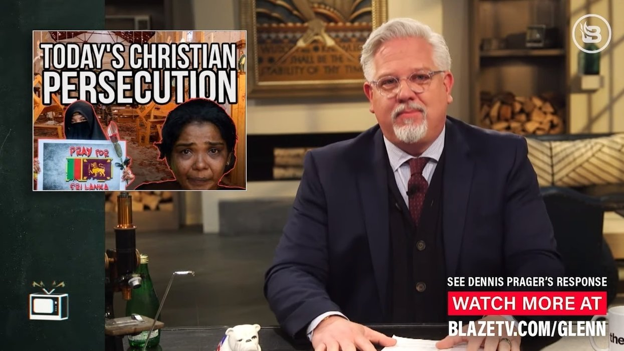 'Where is the outcry?' Glenn Beck warns Christians to take a stand against growing persecution