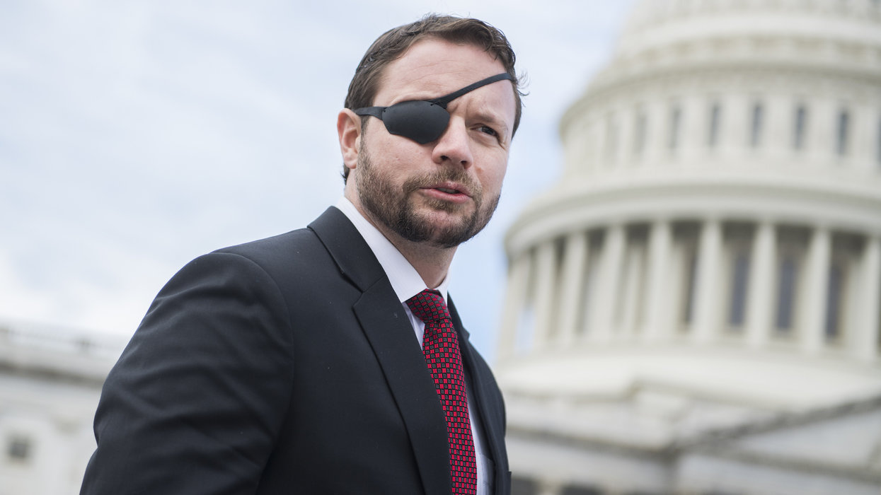 Dan Crenshaw crushes Liz Warren's proposal put taxpayers on the hook for student debt — with one tweet