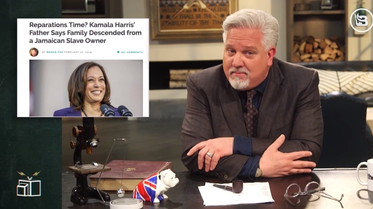 Kamala Harris' support for reparations is ironic given her slave-owner heritage