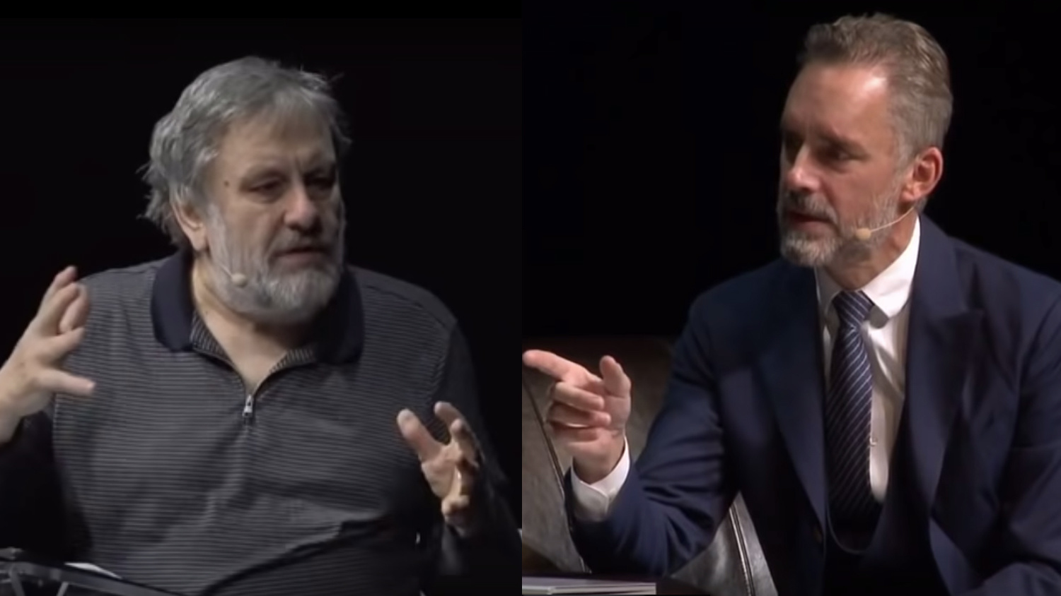 The highlights of the  debate of the century  between Žižek and Peterson