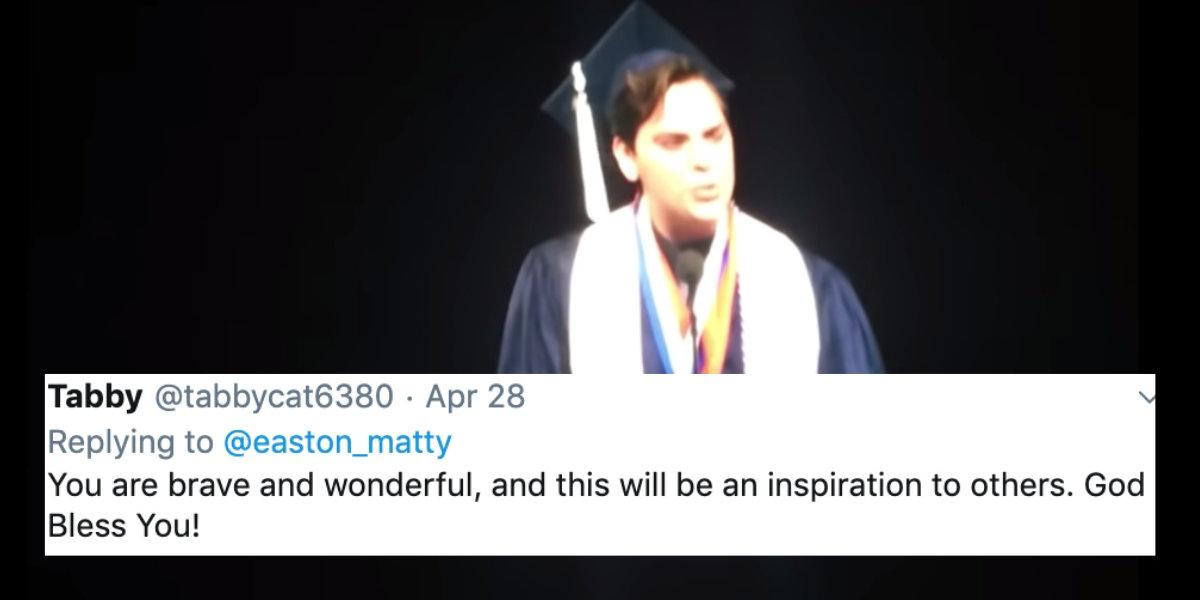 Image result for byu valedictorian - gay son of God